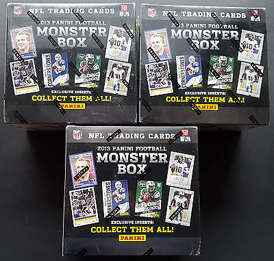 3x NFL Score MONSTER Box 2013 Football Trading Card OVP 3 Exklusive Prizm p Box