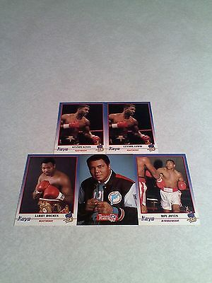 ***Boxing*** Lot of 14 cards.....9 DIFFERENT / Muhammad Ali / Frazier & more