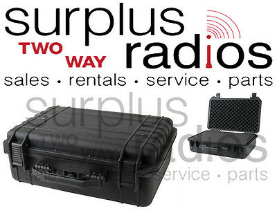 Tactical Weatherproof Equipment Case Vertex Icom Motorola CP200 XPR6550 radios
