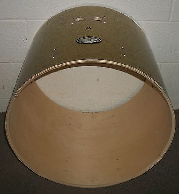 """PEARL VISION 22"""" Bass Drum SHELL - 18"""" Deep - BIRCH - Sparkle Covering"""