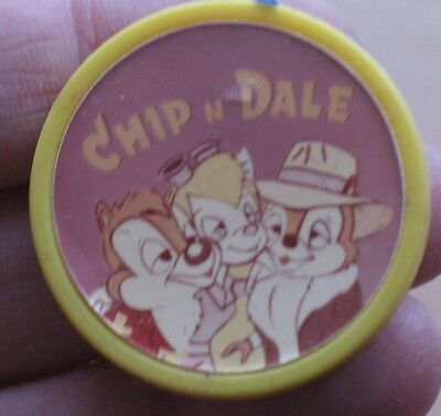 Russian pin CARTOON HERO Buttons Disney's badge Kid Child Old Metal Chip n Dale