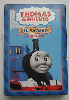 Thomas & Friends All ABOARD Card Game Go Fish Memory SNAP Age 3+ Jumbo Cards