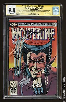 Wolverine (1982 Limited Series) #1 CGC 9.8 SS (1316581019)