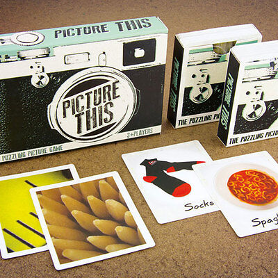 After Dinner Party Games - Picture This Game Fun Catchphrase Game