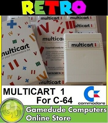 C64 MULTICART+ 4 Megabit Cartridge for Commodore 64 [03]