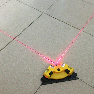 Right Angle 90 Degree Vertical Horizontal Laser Line Projection Square Level BBU