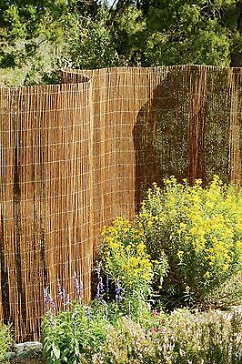 Willow Screening Roll Privacy Screen Fencing Garden Fence Panel Outdoor 4M Long