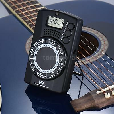 Digital Metronome with Tone Generator Function for Guitar Bass Violin Cello O0L7