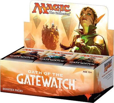 MAGIC THE GATHERING CCG - Oath of Gatewatch Cards Booster Box (WOTC) #NEW