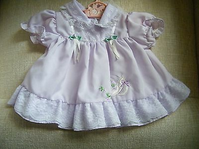 Pretty Lavender & Lace Dress for Lee middleton or Other Modern Doll 11 Inches L