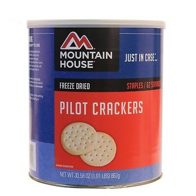 Mountain House 30584 Pilot Crackers In A Can 67 Servings