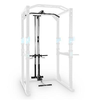 Capital Sports Lat Pull Tower Power Rack Spare Part Home Gym Attachment Steel