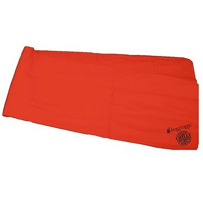 Frogg Toggs Chilly Sport Neck Headband Hands Free Cooling Towel Red CSD10510