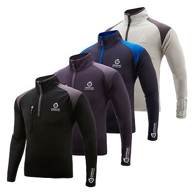Sunderland Mens Fleece Lined Golf Mid Layer Sports Jumper Top 67% OFF RRP