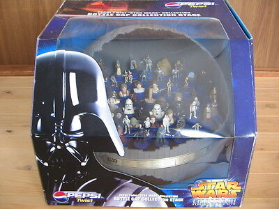 Pepsi Star Wars Ep3 Death Star Display Stage Bottle Cap Figure Collection Used