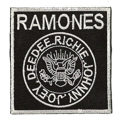 Ecusson thermocollant patche The Ramones Punk Rock patch écusson