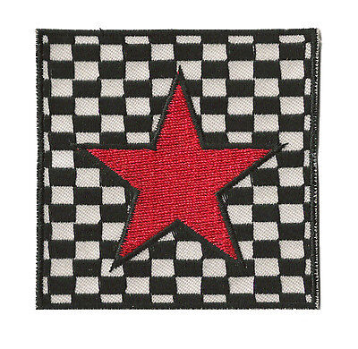 Écusson patche badge transfert étoile Red Star SKA patch thermocollant
