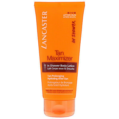 NEW Lancaster Suncare Aftersun Tan Maximiser in Shower Body Lotion 200ml