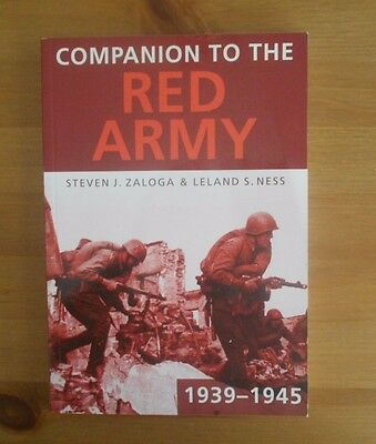 RED ARMY WW2 REFERENCE BOOK steven zaloga