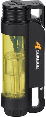 "FIREBIRD by COLIBRI ""ILLUME"" 3 TRIPLE JET FLAME CIGAR LIGHTER / YELLOW * NEW *"