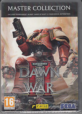 Warhammer 40,000 Dawn of War II 2 Master Collection Brand New Factory Sealed