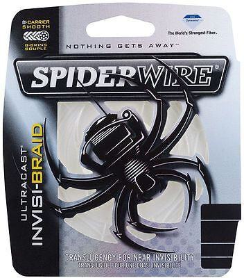 Spiderwire Ultracast Invisi-Braid 300yds - All breaking strains!
