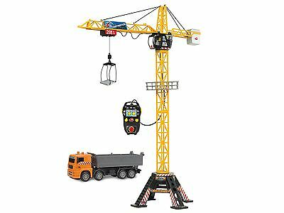 """Dickie Toys 48"""" Mega Crane and Truck Vehicle and Playset"""