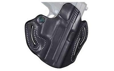 Desantis Speed Scabbard Belt Holster RH Black S&W M&P Shield Leather 002BAX7Z0