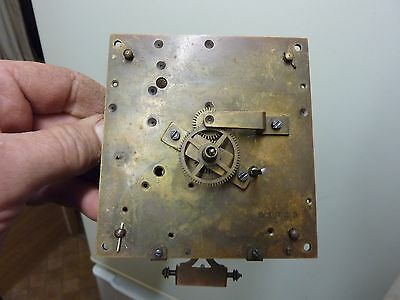 "Antique ""remember"" 2 Weight Vienna Part Movement-Spares-Repair"