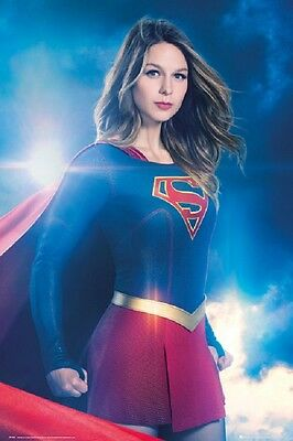SUPERGIRL POSTER fea. Melissa Benoist New Rolled Poster 24x36