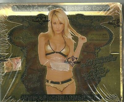 2007 Benchwarmer Gold Edition Factory Sealed Box - 2 Autographs Per Box