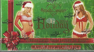 2006 Benchwarmer Holiday Factory Sealed Gift Box Set - 1 Autograph Per Box