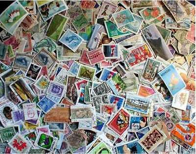 British Empire Stamp Collection - 1,000 Different Stamps