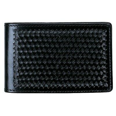 "Aker Leather A583-BW Notebook Cover 4"" x 7"" - Basketweave"