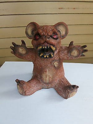 Rare 1989 Distortions Unlimited Evil Teddy Bear Prop