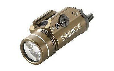 Streamlight 69267 TLED Picatinny Tac Light 800 Lumens w/2 Batts Earth Brown
