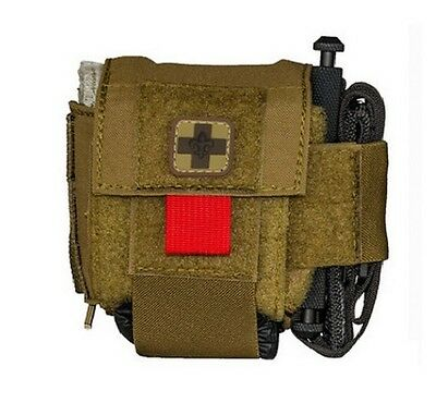 High Speed Gear 12O3D0CB On or Off Duty Medical Pouch w/Belt Coyote Brown