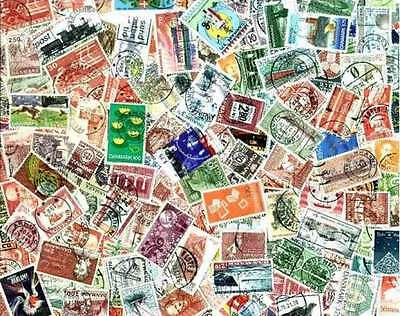Denmark Stamp Collection - 400 Different Stamps
