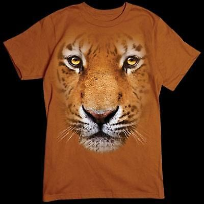Tiger in Your Face Mens Tank Top Size Small to X Large  Pick Your Size
