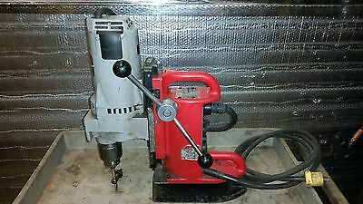 "Milwaukee Magnetic Drill  4202 Base,variable Speed Motor, 3/4"" Chuck"