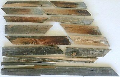 Lot of Reclaimed Pine Barn Wood for Crafts, Great Color Tones,From Early 1900's