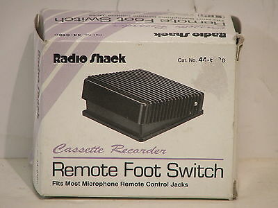 Radio Shack 44-610D Foot Switch - BRAND NEW & BOXED