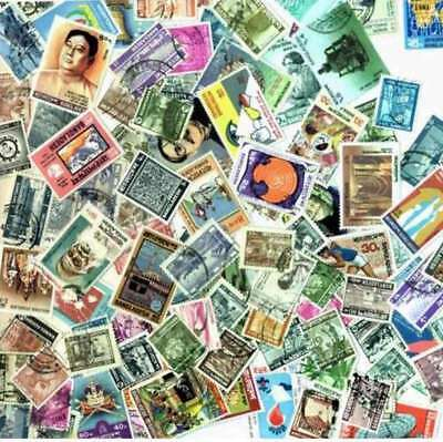 Bangladesh Stamp Collection- 100 Different Stamps