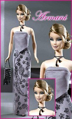 2003 Collectors Edition Giorgio Armani Barbie!!