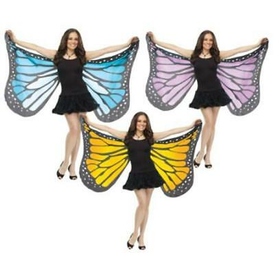 Fashion Womens Ladies Scarf Butterfly Wing Soft Wrap Long Shawl Scarves LG