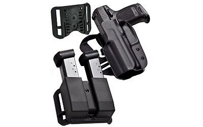 Blade-Tech HOLX0086IDPAPKO0080BLK IDPA Competition Pack For Glock 17/22/31 RH