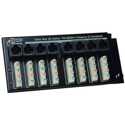 Open House H628 Data Termination Hub w/110 Punch-Down Connectors