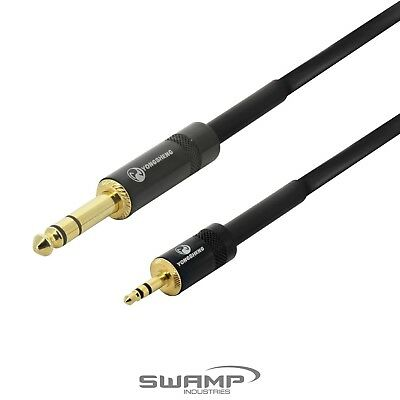 3.5mm to 6.35mm TRS Cable - Balanced