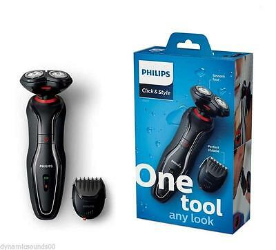 Philips S720 Click&style 2 In 1 Shave & Stubble Waterproof Electric Shaver