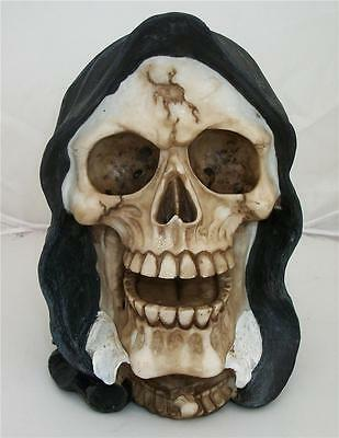 Nemesis Now Gothic SHROUDED SKULL REAPER RETURNS Magick Wiccan Pagan